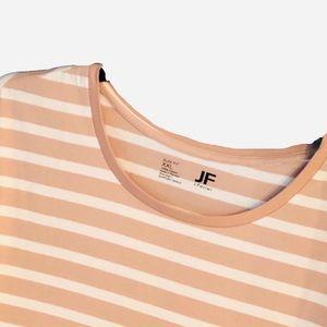 NWT Men's XXL Slim Fit striped crew shirt